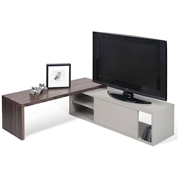 move meuble tv extensible et pivotant temahome. Black Bedroom Furniture Sets. Home Design Ideas