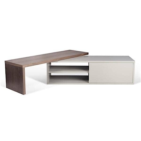 meuble tv plateau tournant excellent meuble tele a. Black Bedroom Furniture Sets. Home Design Ideas