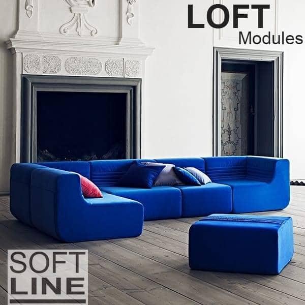 LOFT, ein modulares Sofa, SOFTLINE