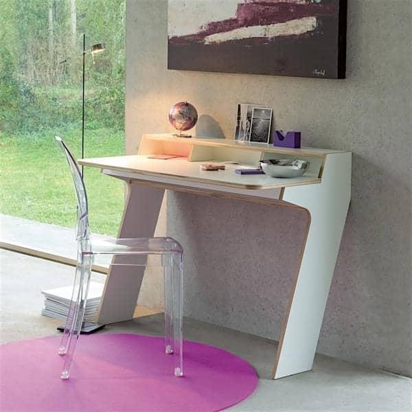 slope console desk leonard pfeifer. Black Bedroom Furniture Sets. Home Design Ideas