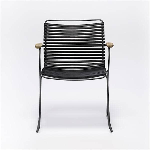Chaise CLICK SYSTEM, résine et acier, outdoor