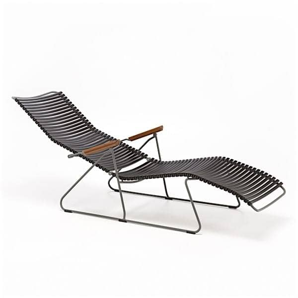 ... Outdoor Sun Lounge Chair, CLICK SYSTEM, Resin And Steel, ...