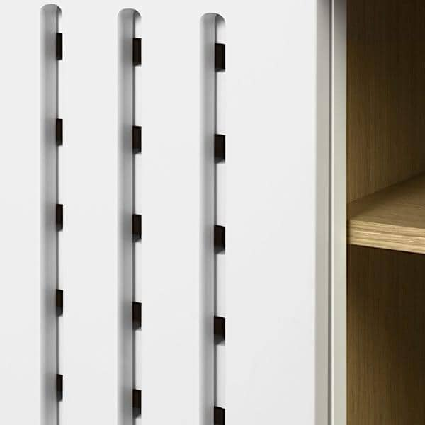 DANN, buffets à portes coulissantes, avec ou sans tiroirs