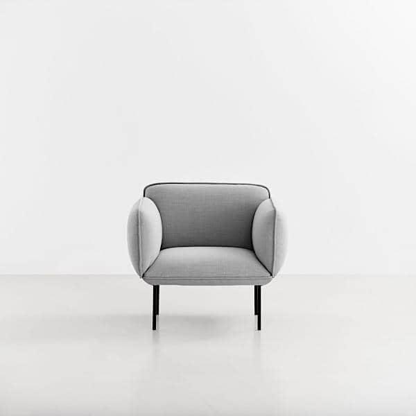 Fauteuil NAKKI 1 place, confort et modernité, Mika Tolvanen. WOUD.