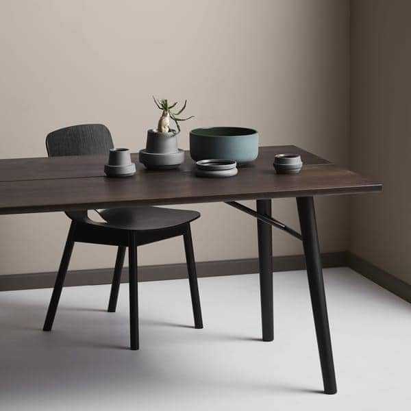 Alley Dining Table In Solid Wood Woud