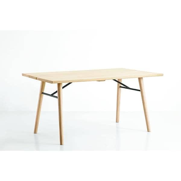 Alley mesa de comedor en madera maciza woud for Mesa comedor madera maciza