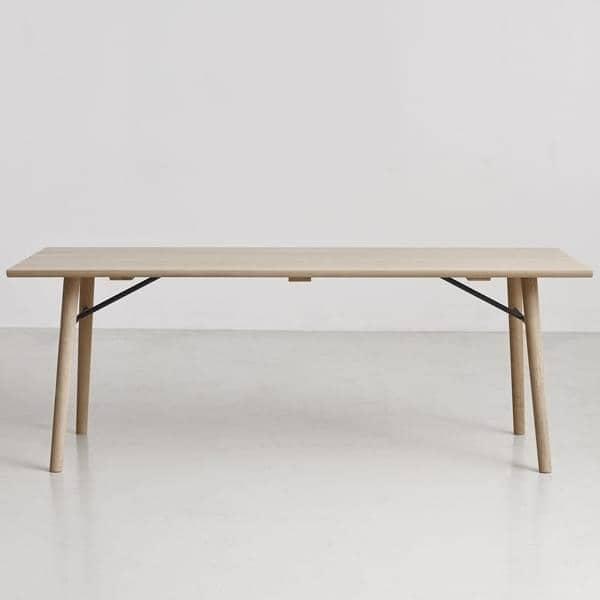 ALLEY, mesa de comedor de madera maciza, WOUD ALLEY 180: 180 x 95 x ...