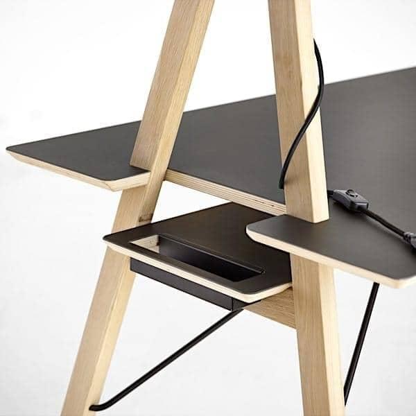 AA DESK : un espace de travail étudié pour vous simplifier la vie. Et en plus, c'est beau !