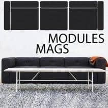 Sofa MAGS en cuir, les modules
