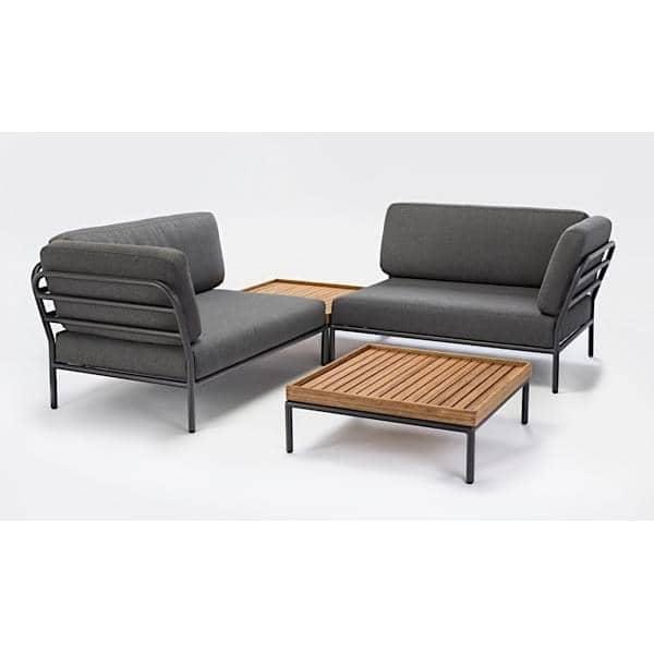 salon de jardin level composer de haute qualit canap pouf et table basse par houe. Black Bedroom Furniture Sets. Home Design Ideas