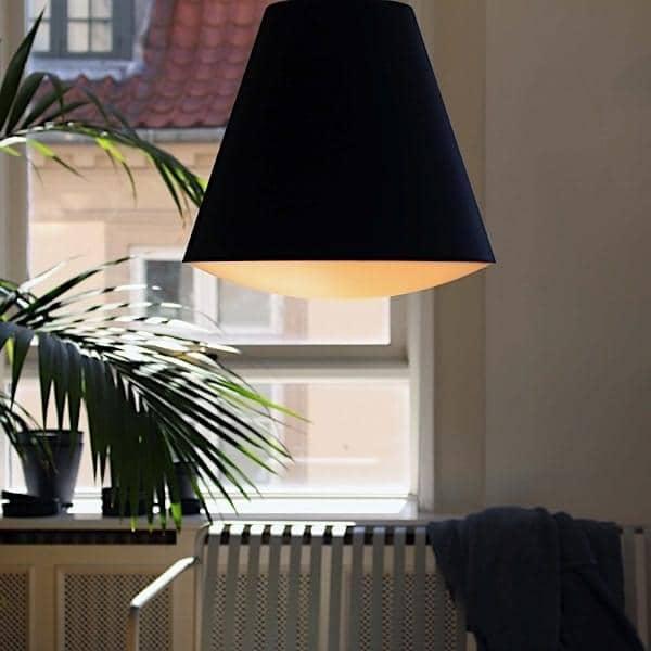 Sospensione o illuminazione a soffitto SINKER, contemporanea e tecnica. HAY