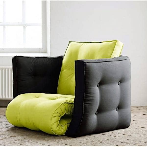 Lofty Futon Armchair Convertible Nordic Design