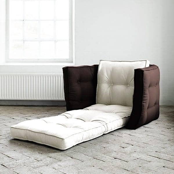 Lofty Futon Armchair Convertible Nordic Design