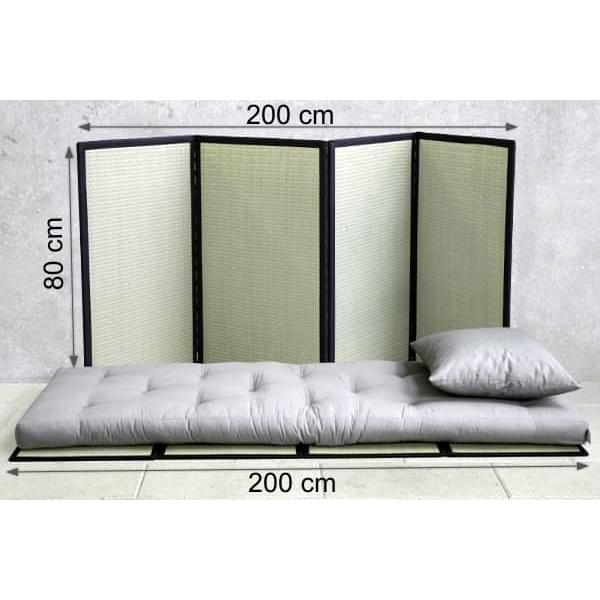 tatami sommier traditionnel japonais pour futon nordic design. Black Bedroom Furniture Sets. Home Design Ideas