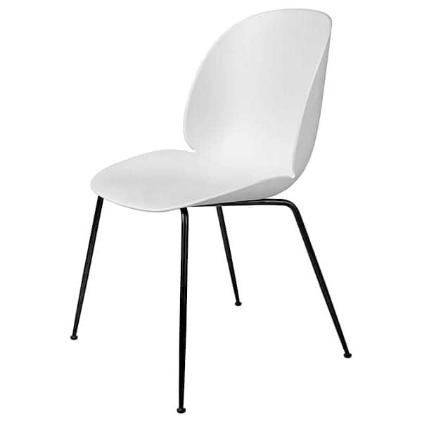 Oppdatert BEETLE polypropylen og metall stol av GUBI RR-86