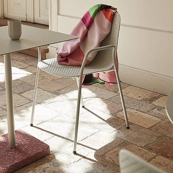 TERRAZZO : tavolo quadrato o rotondo, 3 altezze disponibili ...