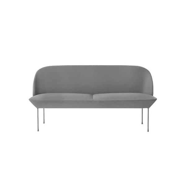 El sofá OSLO 2 plazas, una silueta elegante y elegante. MUUTO
