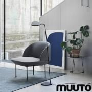 The OSLO armchair, rounded and thin shapes and maximum comfort. Muuto
