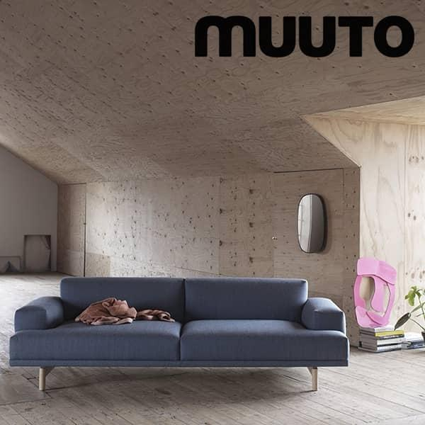 Canapé Super U: Le Sofa COMPOSE 3 Places, Un Canapé Super Confortable. Muuto