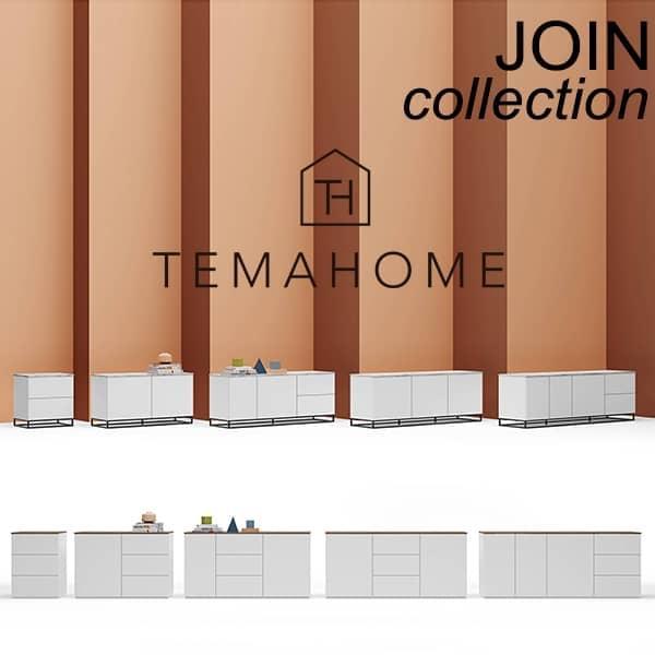 Design og elegante skjenker, JOIN samling, signert TEMAHOME.