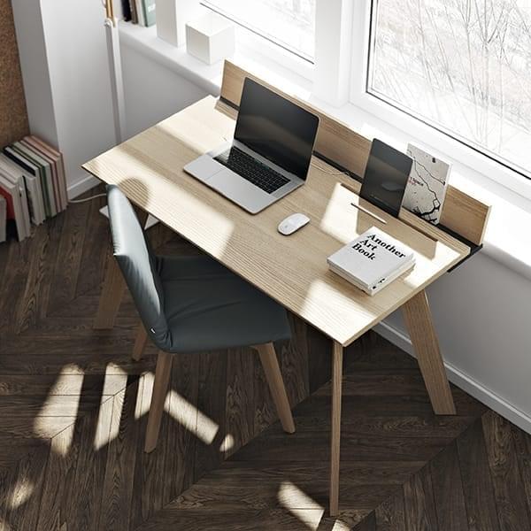 Bureau en bois LOFT, simple et fonctionnel. TEMAHOME