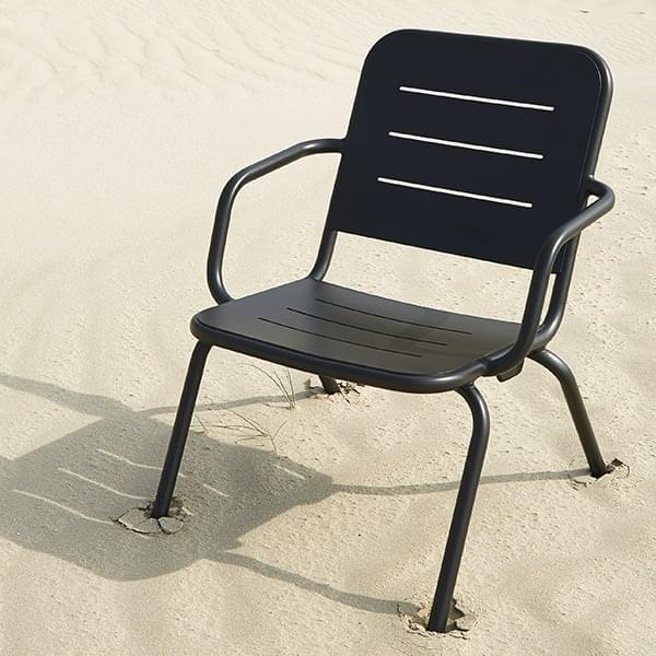 RAY Outdoor-Lounge-Sessel von FASTING & ROLFF für WOUD