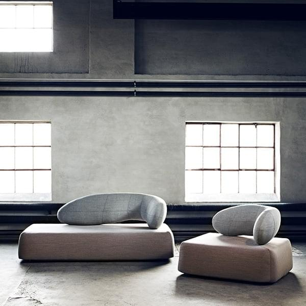 CHAT sofa, design og trendy, af SOFTLINE