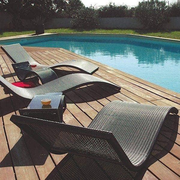 transat wave pour le jardin et la terrasse h misph re. Black Bedroom Furniture Sets. Home Design Ideas