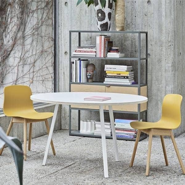 Il round LOOP tavolo da pranzo, o tavolo alto, è bello, facile da vivere e  conveniente - deco e design