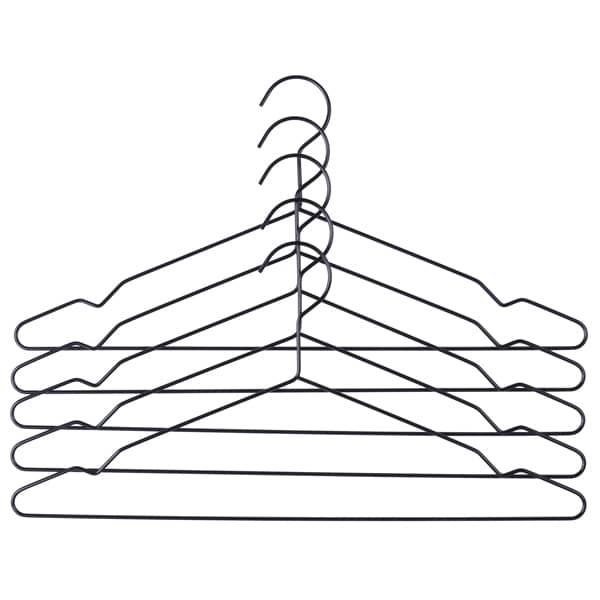 Les cintres HAY (ensemble de 3 ou 5 cintres), en aluminium anodisé. Sobres, déco et design