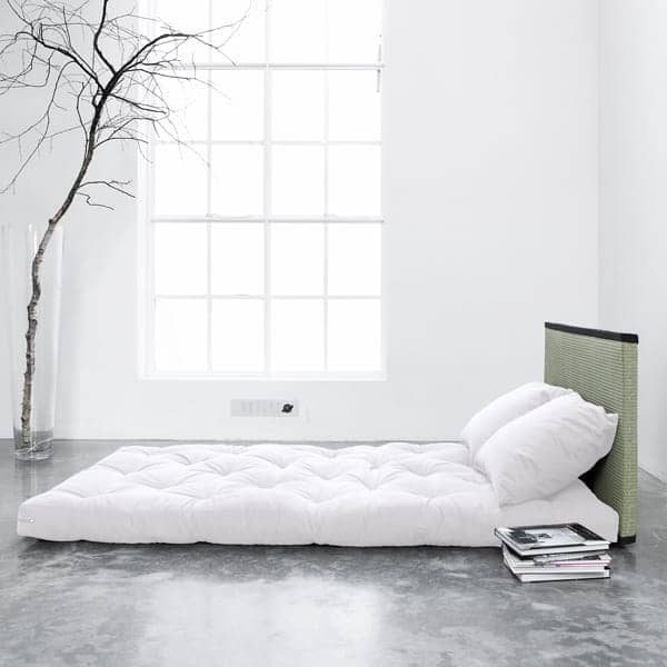 tatami bed sano le tatami le futon et les 2 coussins nordic design. Black Bedroom Furniture Sets. Home Design Ideas