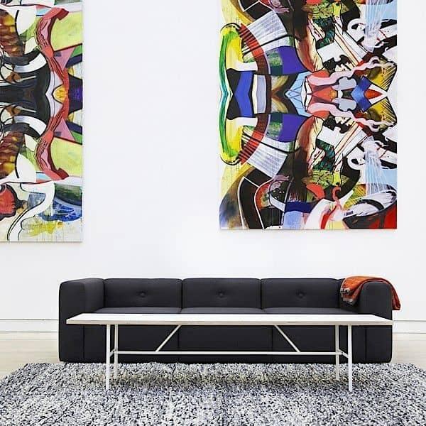 sara coffee table er smart lett leve og rimelig hay. Black Bedroom Furniture Sets. Home Design Ideas