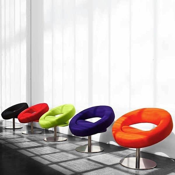 Den HELLO Chair er rund, åpen og glad - deco og design, SOFTLINE
