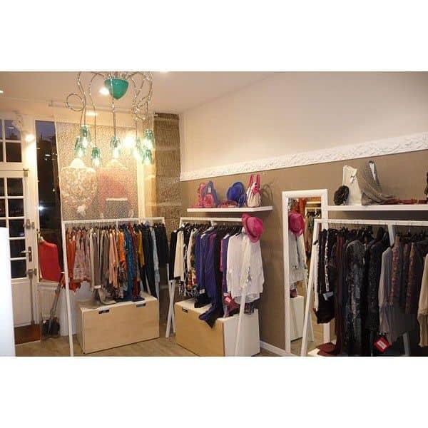 set 1 loop stand garderobe 20 soft coat hangers hay. Black Bedroom Furniture Sets. Home Design Ideas