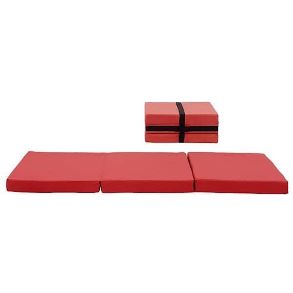 HANDY er en funktionel ekstra seng, og også en puf, nem at flytte, takket være dens integrerede greb - Deco og design, SOFTLINE