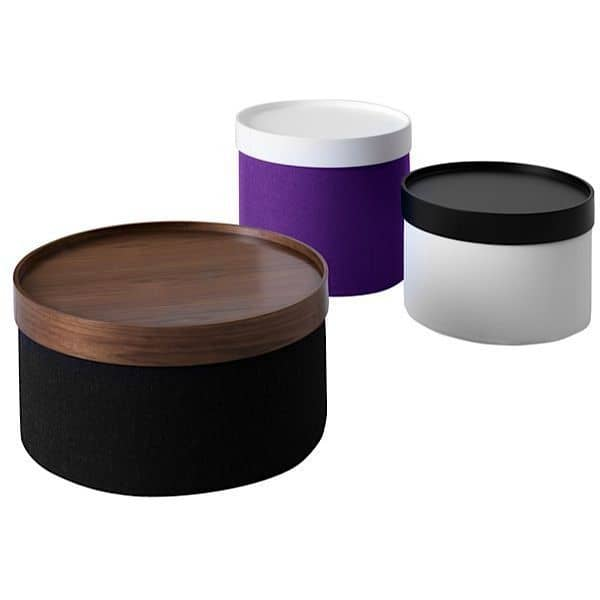 is a functional pouf and side table - deco and design, SOFTLINE