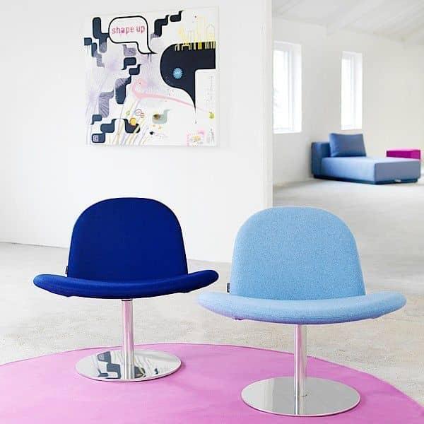 Orlando er en moderne drejestol, og en meget behagelig stol! - Deco og design, SOFTLINE