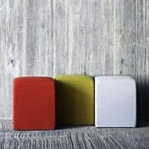 POUF very nice ottoman, available in many colors and qualities. deco and design, SOFTLINE