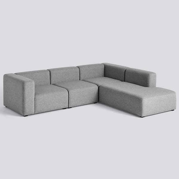 MAGS Sofá, combinações de módulos, tecidos e couros, HAY
