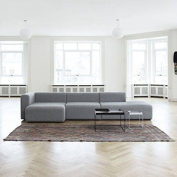 MAGS Sofá, unidades modulares, tecidos e couros: crie seu sofá personalizado, HAY