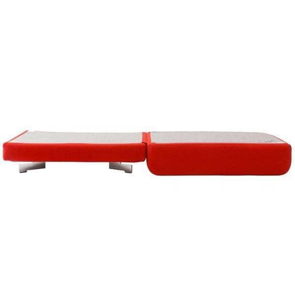 MAX, grand pouf convertible en lit. SOFTLINE