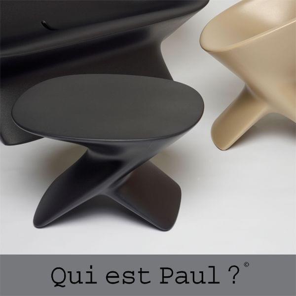 Pouf UBLO - Table basse ou pouf, quelle ligne ! QUI EST PAUL