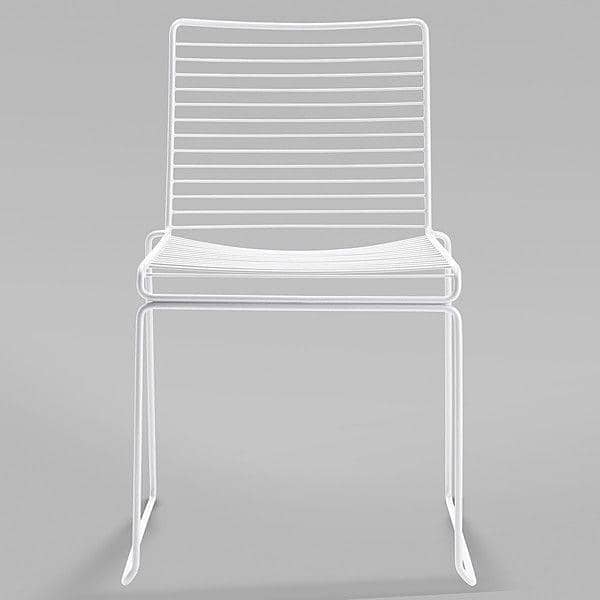 HEE Chair by HAY is light, stackable and resistant - a beautiful choice of colors