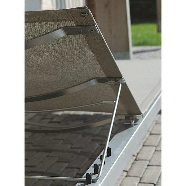 Le bain de soleil rolbloc transat pi tement et structure for Transat exterieur design