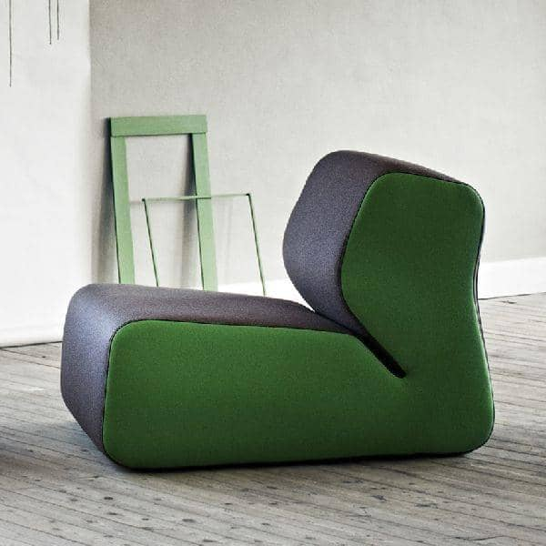 HUGO : eine stattliche Sessel, gemütlich und sehr stilvoll, SOFTLINE - Dekoration und Design