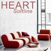 HEART :持つ寛大なソファheart 、 SOFTLINE -デコとデザイン、 SOFTLINE