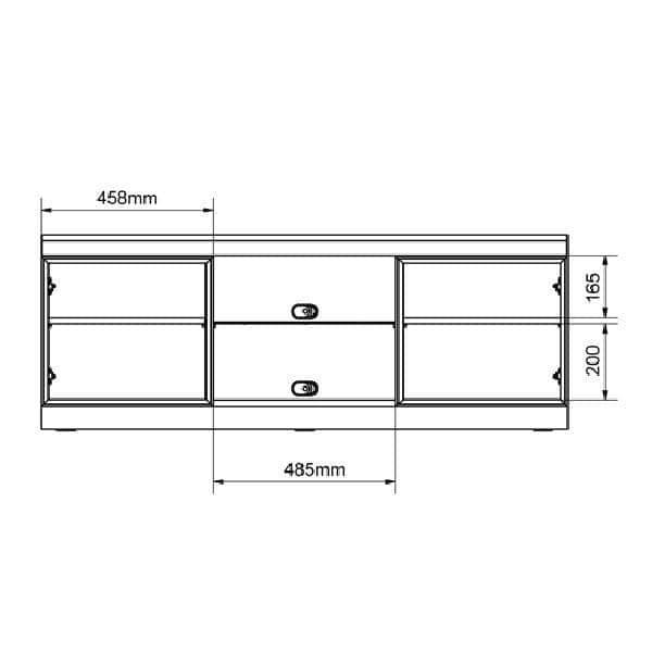 DENVER - Meuble TV LCD PLASMA