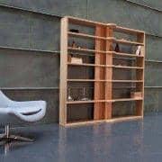 HINGE HIGH sistema multifuncional estantes - carvalho maciço - deco e design
