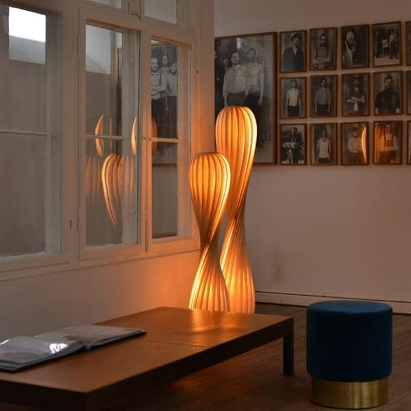 Tom Rossau Tr 7 Pendant Or Floor Lamp Wood Or Pp And