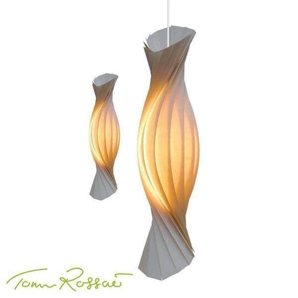 TOM ROSSAU - TR 8 Luz Pingente: madeira glamourous - deco e design